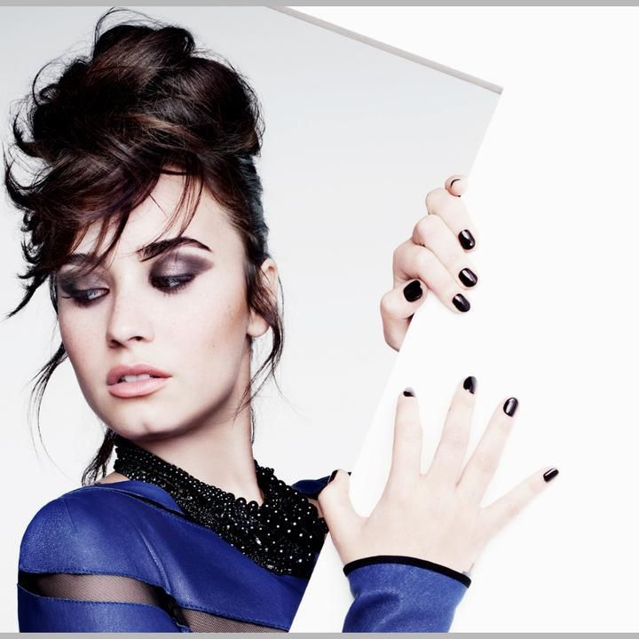 Demi Lovato Is Premiering Songs Based on Intensity of Tweets - Could be a cool idea for authors