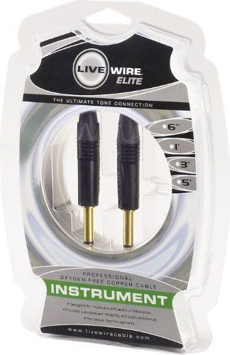 Live Wire Livewire Elite Instrument Cable 3Ft by Live Wire. $22.99 ...