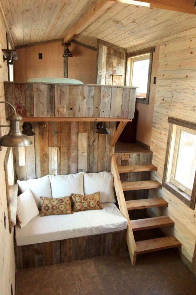 Woman's Blissful 24ft Gooseneck Tiny Home #tinyhome