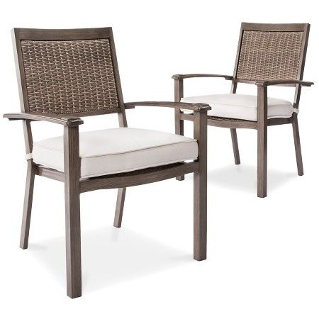 Aluminum Dining Chairs Target Gold Vanity Chair Premium Edgewood 2pk Smith Hawken Expect More Pay Less Patio Diningdining