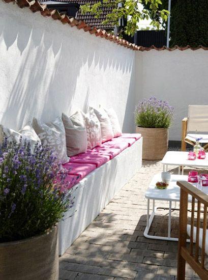 Jardines y terrazas #ideasdedecoracion #jardines #terrazas Flores - jardines en terrazas