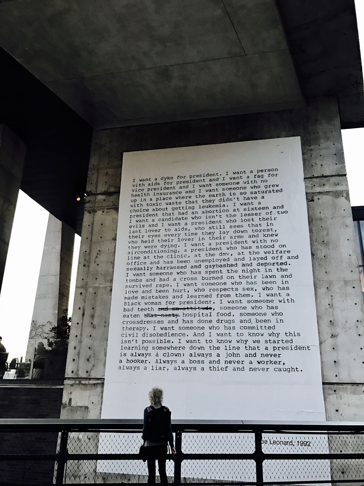 Zoe Leonard On Why Her 1992 Poem I Want A President Stays Viral Kids Activities At Home Art Encounters Creative Math