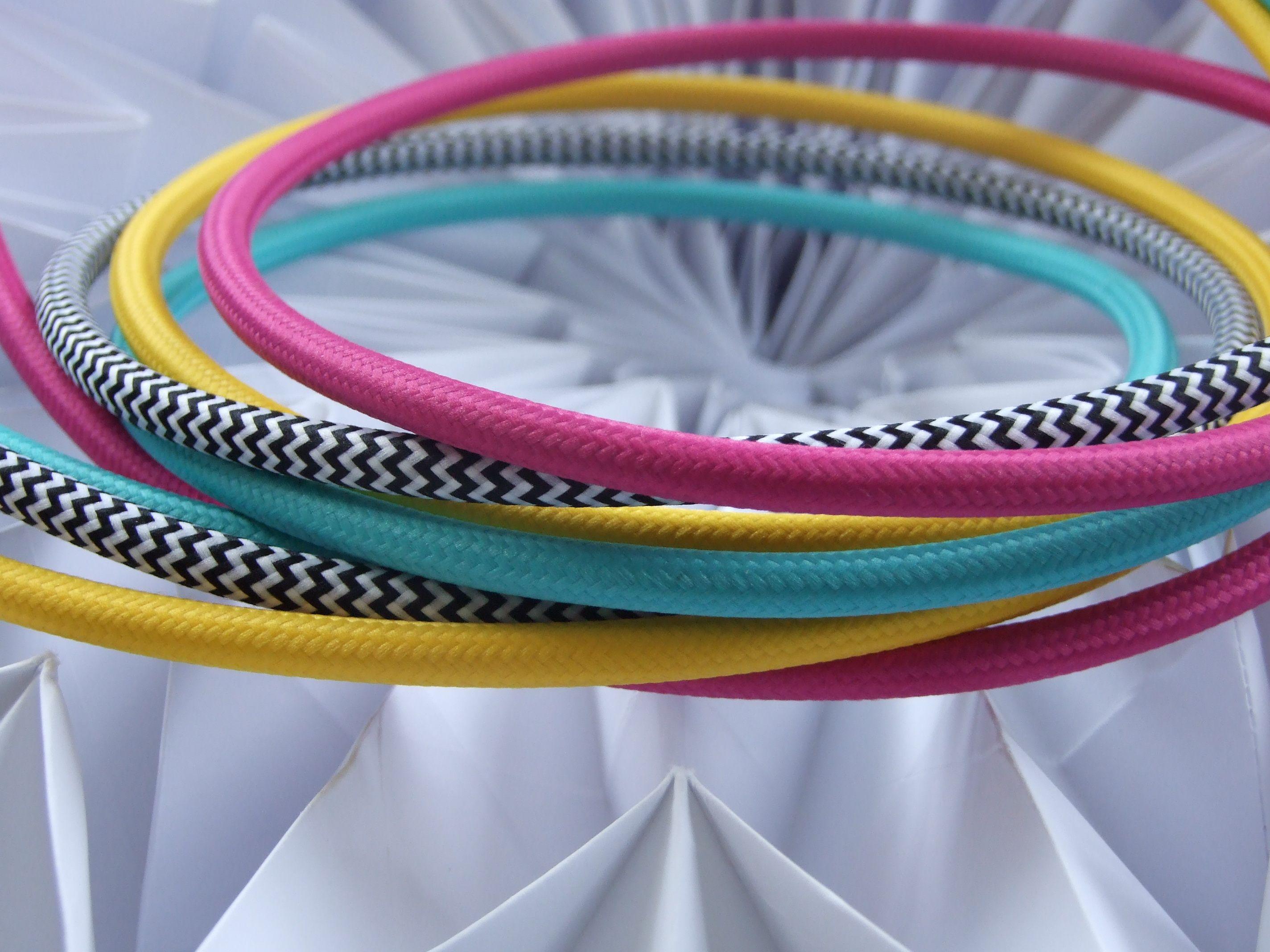 Textilni Kabel Origami Stinidla Papir