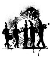 Drummer Silhouette (vector Illustration) stock photos - FreeImages.com""