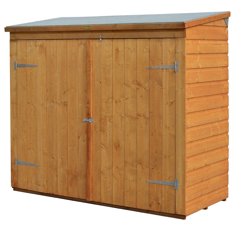 Amazon.com : Bosmere WS1881H Rowlinson Wallstore Wooden Outdoor/Garden Lockable Storage Unit