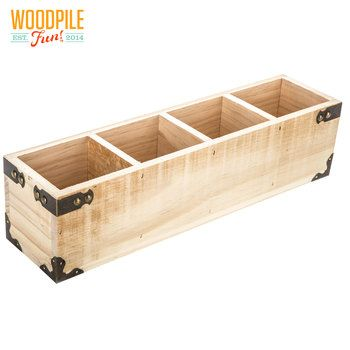 Rectangle Compartment Wood Box Hobby Lobby 1431717 In 2020 Wood Box Centerpiece Wood Boxes Diy Wood Box