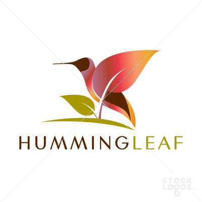 Humming Leaf #BRANDING #IDENTITY #LOGO