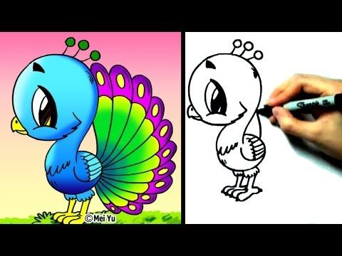 These Videos Are Great You Can Go To Fun2draw Youtube Channel To Find More Over 100 Videos On How To Draw Animals People Fun2draw Animal Drawings Cute Art