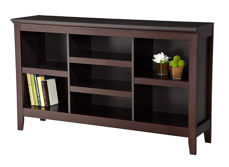 Threshold Carson Horizontal Bookcase Perfect Cabinet For The Tv In The Living Room Smaller