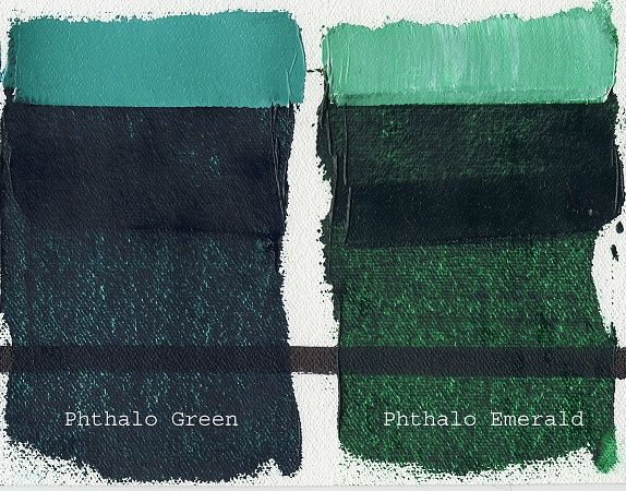 Image result for Phthalo green dark
