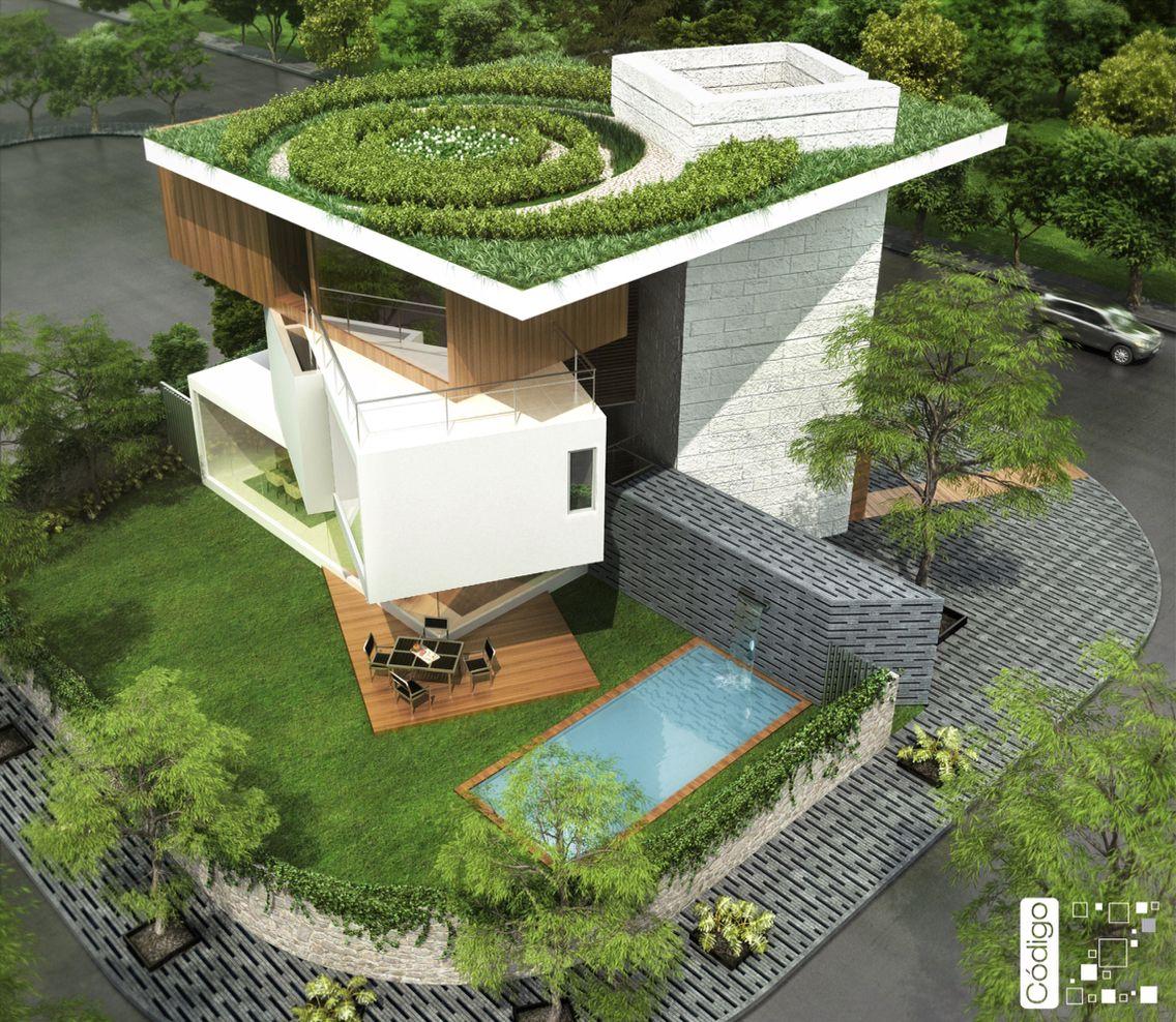 Ideas De Diseño De Jardines Residenciales: Código Z Arquitectos / Arquitectura / Casa MM Mérida