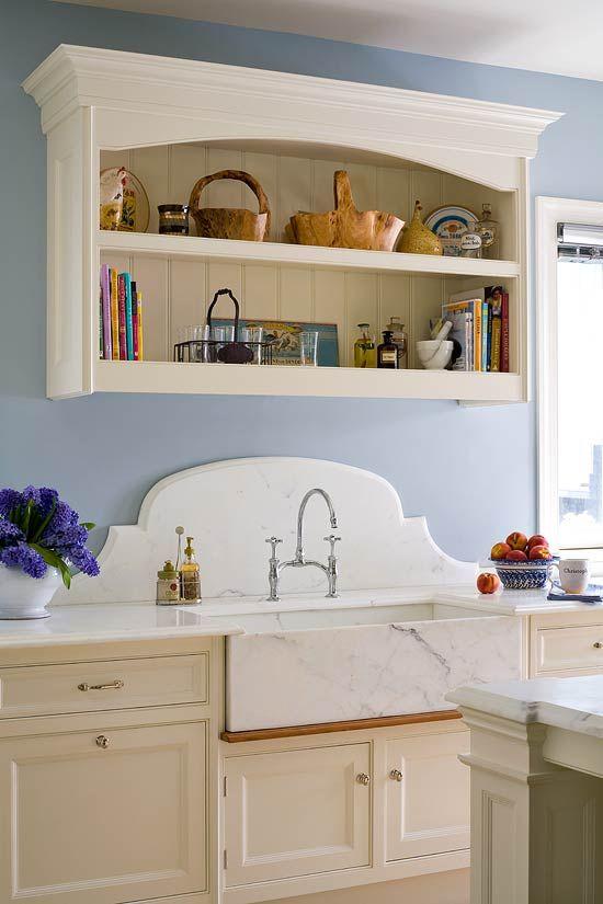 Beautiful Kitchen Backsplashes  Traditional Home® Love The Piece Stunning Kitchen Sink Backsplash Design Ideas
