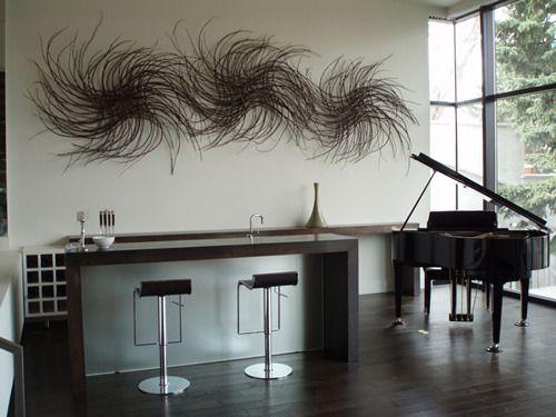 Organic Inspiration: Abstract Twig Art #twigart