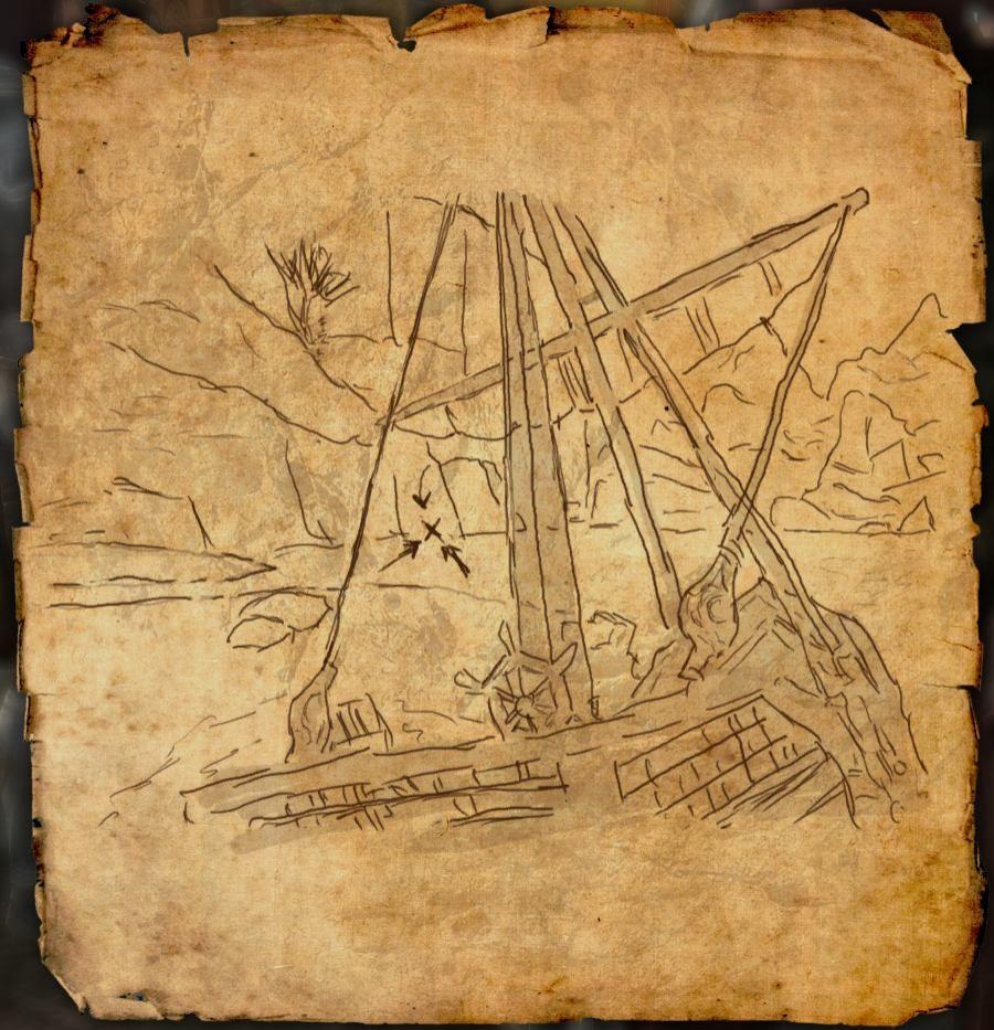 Treasure Map Iv Skyrim. Gold Coast Treasure Maps With ...