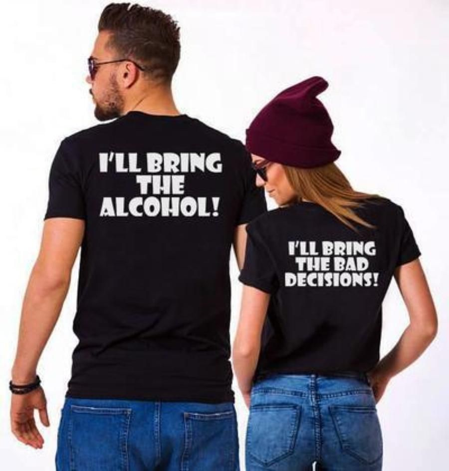 SAVE 10USD on Funny slogan custom Couple Tshirts,Matching t-shirts for couples,Anniversary gifts,Short sleeves shirt