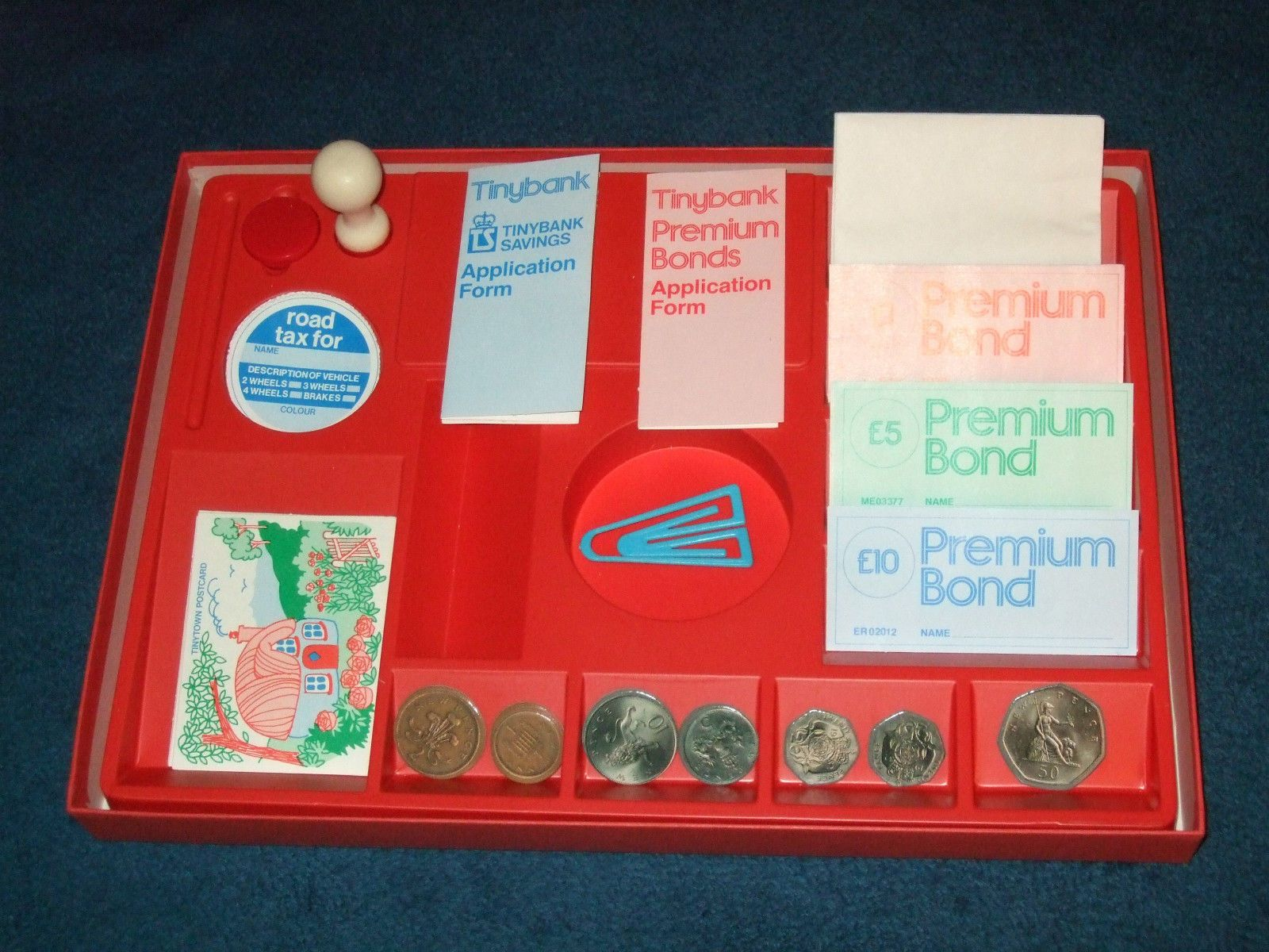 ebay office tiny town post office children39s game 1991 stamps tax disc39s etc acm ad agency charlotte nc office wall