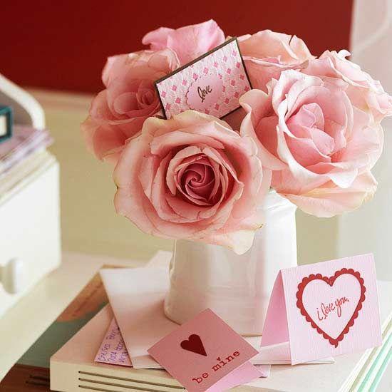 23 Stunning DIY Valentine\'s Day Flower Arrangements   Rose bouquet ...