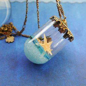 Sea Glass Necklace ($15.99)