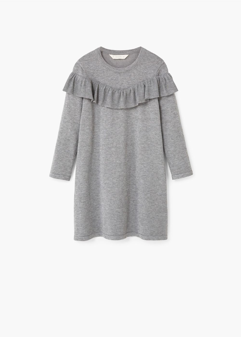 Ruffled dress | MANGO KIDS
