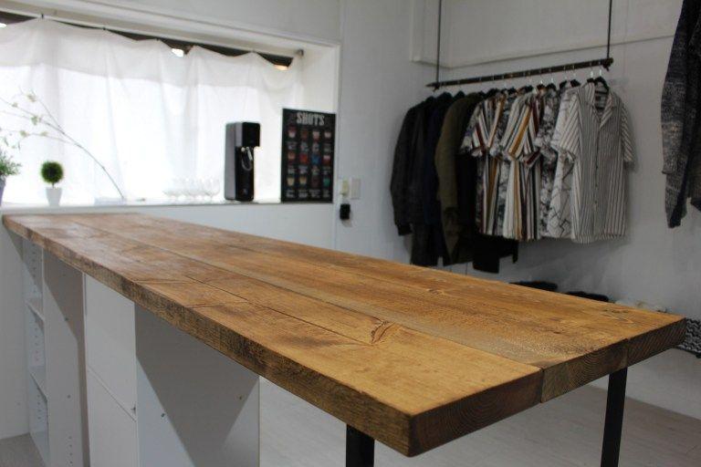 1万円でキッチンにおしゃれなカウンターテーブルをdiy ニトリのカラーボックスで作る方法 Diy Magazine カウンターテーブル インテリア 家具 カウンターテーブル Diy