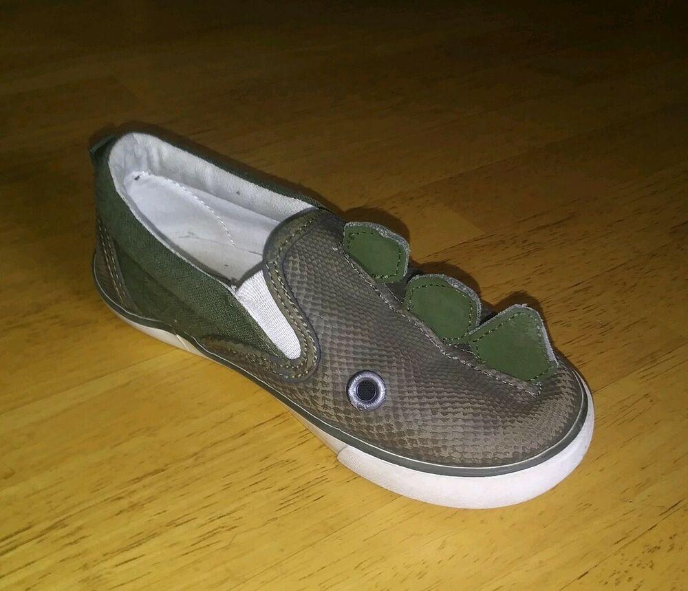 Gap Kids Dinosaur Shoes Boys Size 10