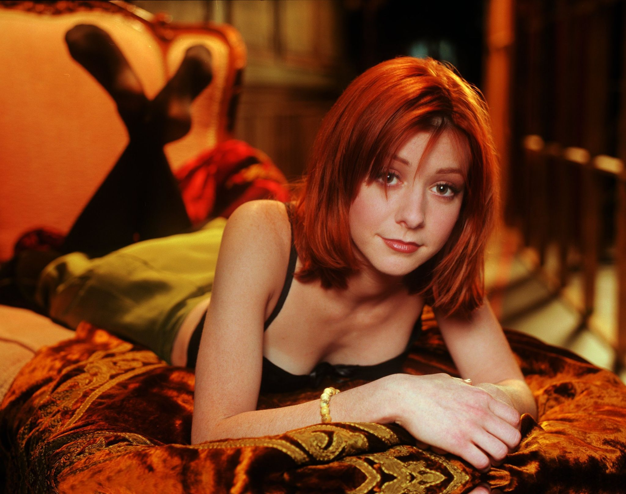Alyson Hannigan Sex buffy the vampire slayer - season 3 promo | willow buffy