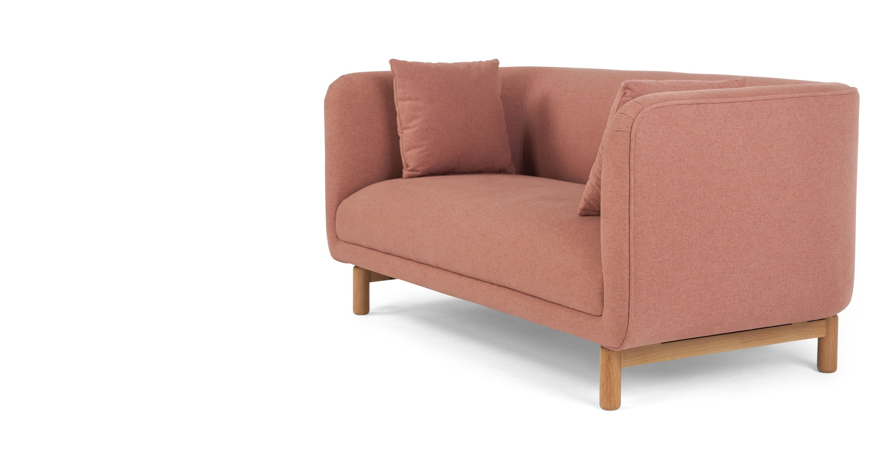 Tribeca 2 Sitzer Sofa Altrosa 2 Seater Sofa Seater Sofa Sofa Colors