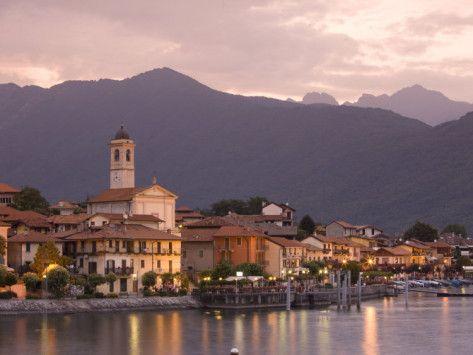 Baveno - a village on Lago Maggiore in the Italian Lake District... Wonderful memories!