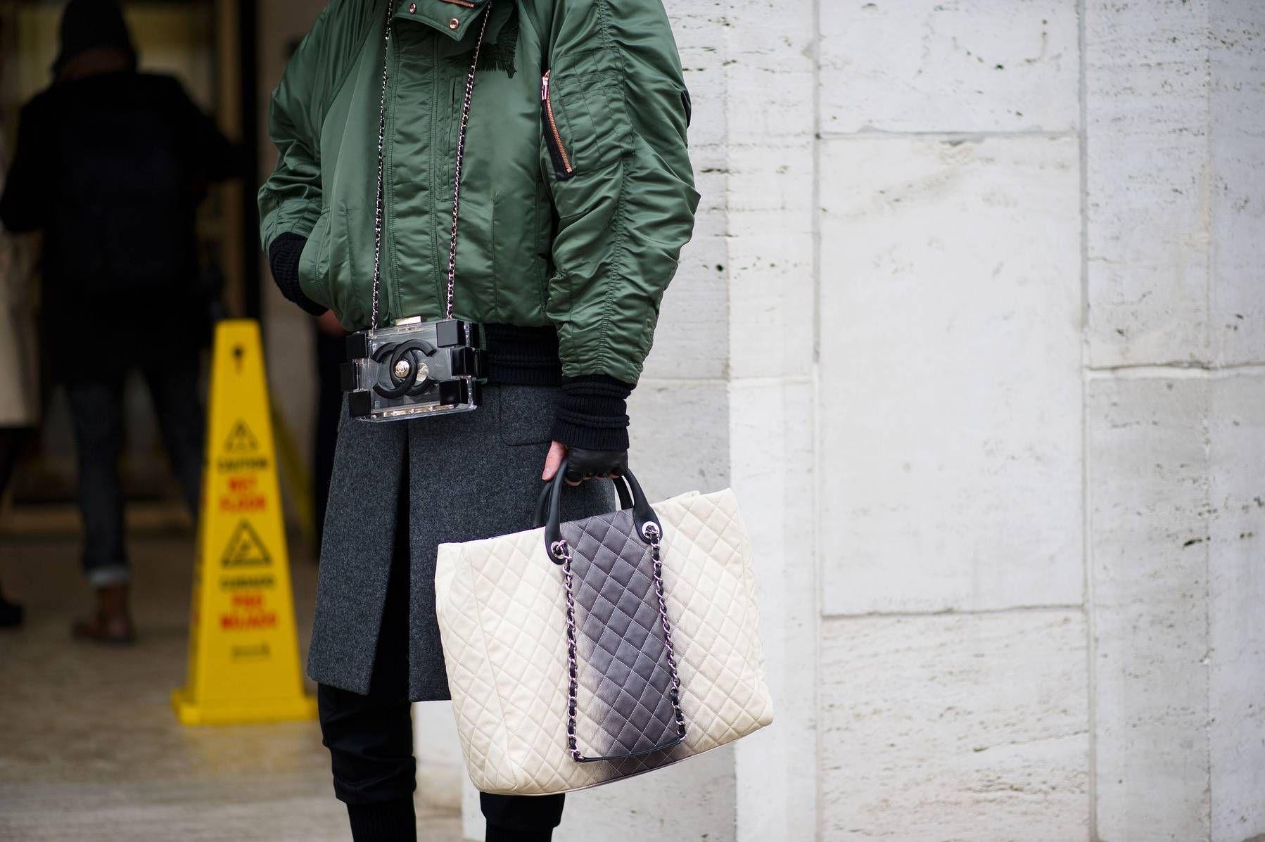 Street Style: Vestirse para la Cámara Pre-Storm - The Cut