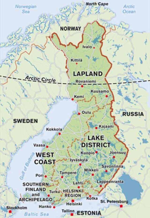 Everything You Need To Know About The Scandinavian Region Lapland Lapland Finland Finland Weather