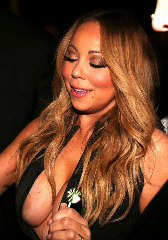 Mariah Carey Nipslip