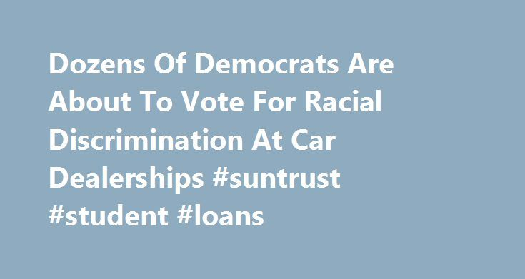 Dozens Of Democrats Are About To Vote For Racial Discrimination At