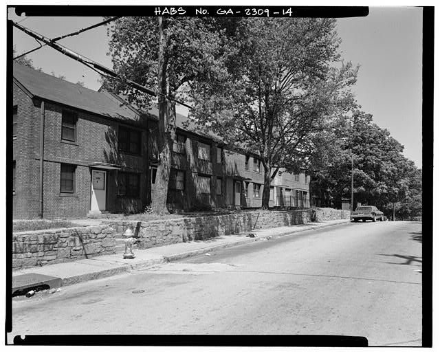14 View Of South Side Of Building B 3 From Southwest Facing Northeast Replicates Historic View At Ga 2309 3 Cla In 2021 Georgia History Fulton County Historical