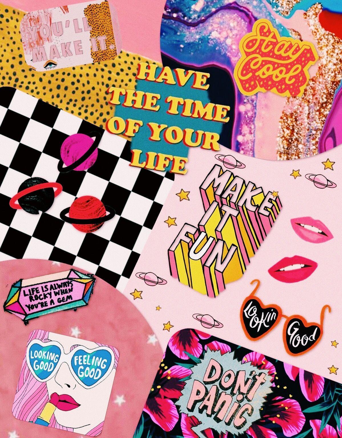 Image result for pink aesthetic wallpaper desktop collage