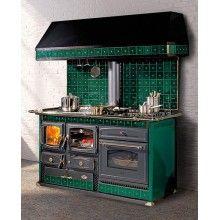 Cucina A Legna Cola.Cucina A Legna Anselmo Cola Helena Deluxe 8kw Rivestita Ceramica