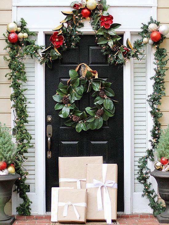 Outdoor Christmas Decorating Ideas holidays Pinterest
