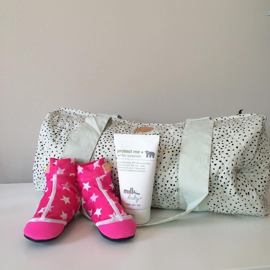 ferm LIVING kids mint dot duffel bag: http://www.fermliving.com/webshop/shop/kids-room/kids-bags-and-baskets/mint-dot-duffel-bag.aspx
