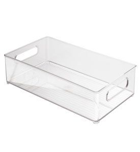 Amazon Com Interdesign Kitchen Bin 10 Inch By 6 Inch By 3 Inch Clear Kitchen Storage And Organizatio Interdesign Kitchen Bin Kitchen Storage Organization