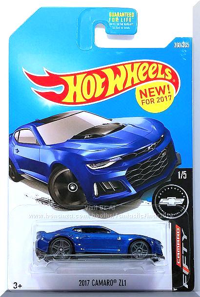 Hot Wheels 2017 Camaro Zl1 Camaro Fifty 1 5 360 365 2017 Blue Edition Hot Wheels Toys Camaro Zl1 Hot Wheels Kids