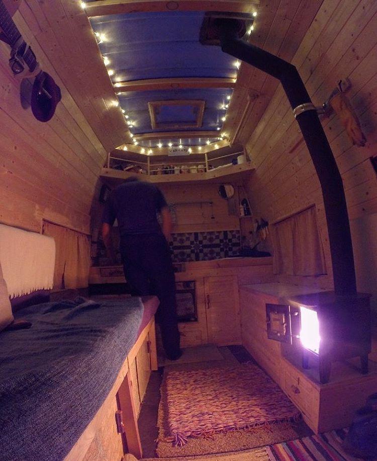 Pin By Michaela Kaufman On Campers Vans Van Living Diy Camper Van Dwelling