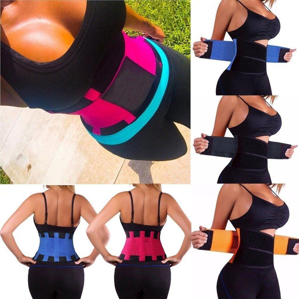 e06df07d08a Sexy Men Womens Waist Trainer Cincher Control Underbust Shaper Corset  Shapewear Body Tummy Sport Shaper
