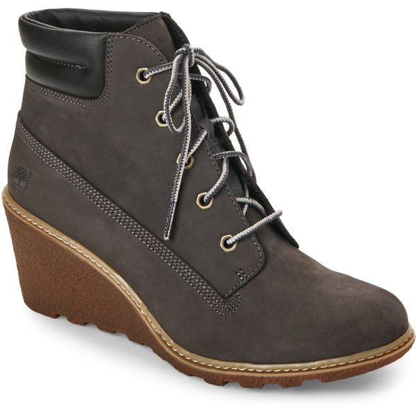 boots, grey, timberland boots, wedges