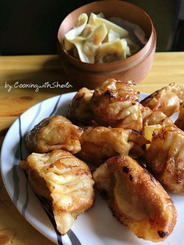 Wonton Adalah Dumpling Atau Pangsit Ala Chinese Berbeda Tetapi Mirip Dengan Gyoza Yang Pernah Saya Share Sebelumnya Kebanyakan Menggun Pangsit Wonton Memasak