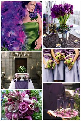 This Is My Favorite Emerald Green Purple Wedding Emerald