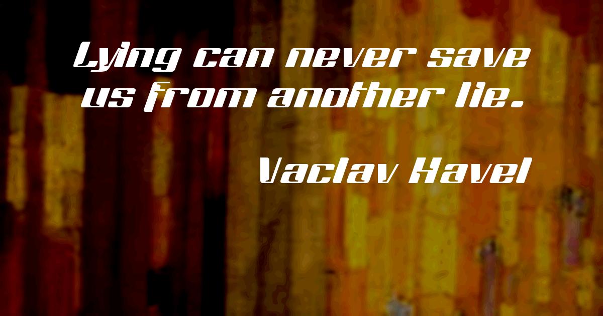 Václav Havel (Czech pronunciation: [ˈvaːt͡slav ˈɦavɛl]; 5 October 1936 – 18 December 2011) was a Czech writer, philosopher, dissident, and statesman.