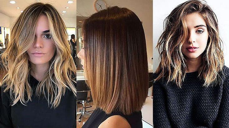 Frauen 2021 haare halblange Halblange Frisuren