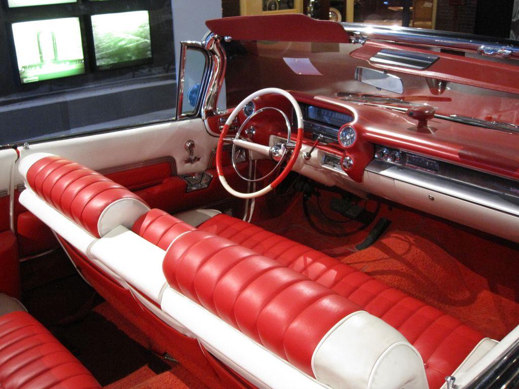 Car interior piping - 1959 Cadillac Interior