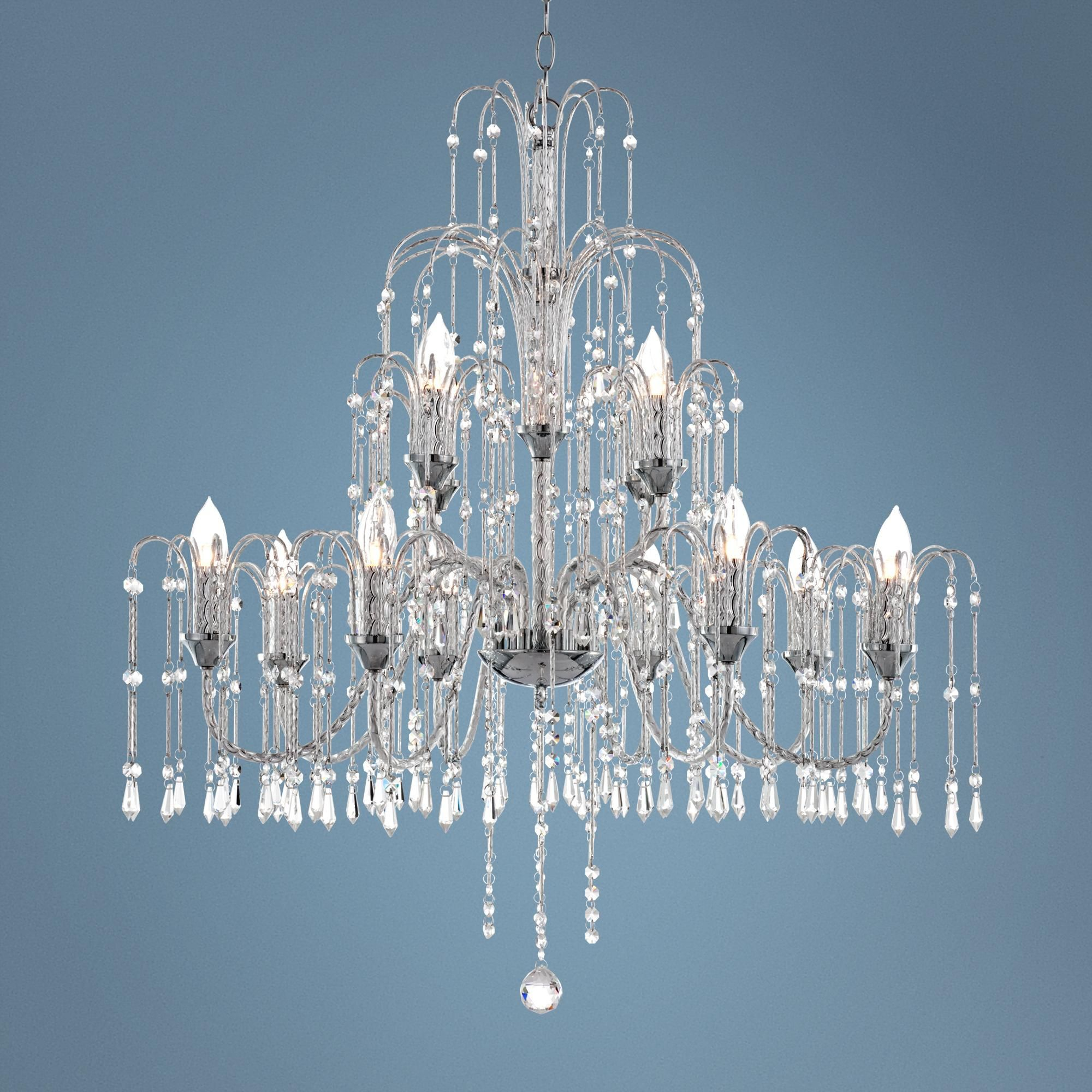 model lamp mtl furniture max fbx obj large models visual crystal comfort cube chandelier chandeliers