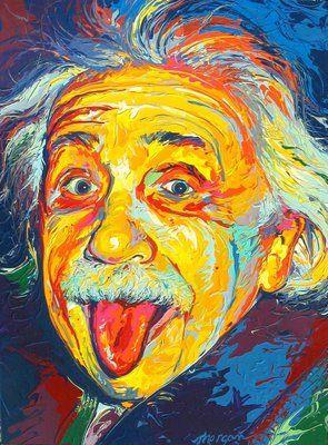 Thad Morgan - Albert Einstein - Fauvismo - Domingo com Limonada