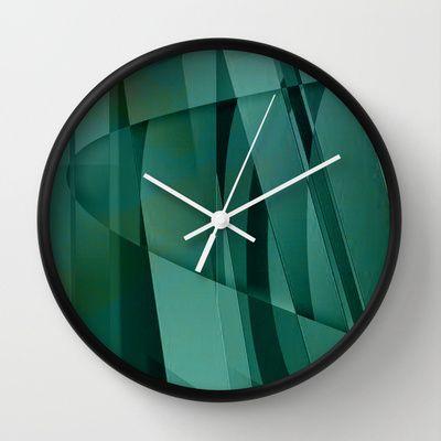 Gattaca Wall Clock by Fernando Vieira